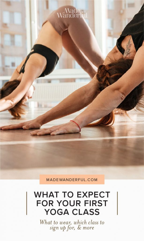 What to expect for your first yoga class • Made Wanderful