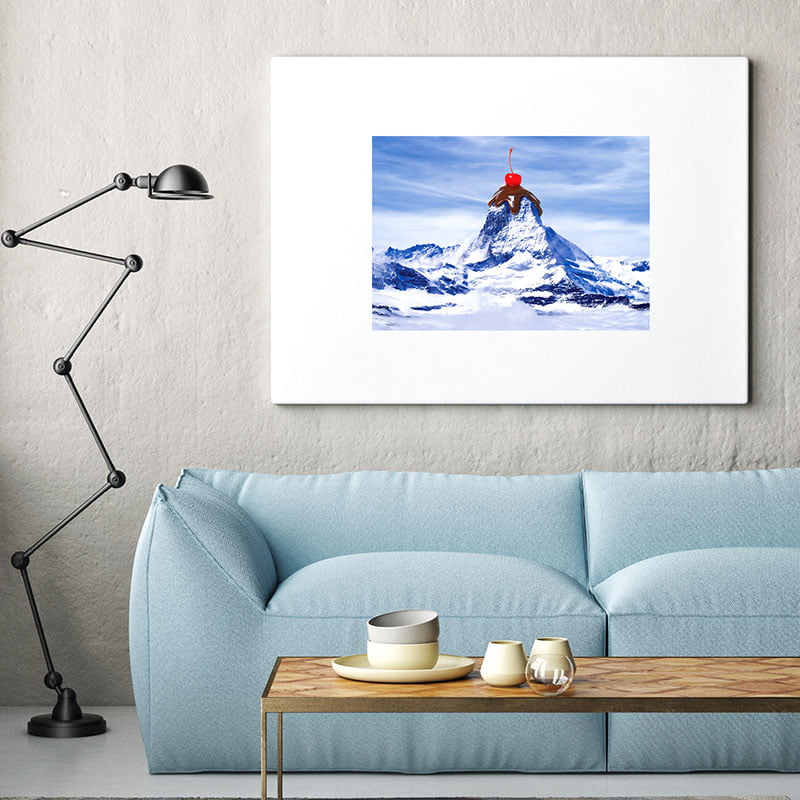 Sundae at the Mountain   Mountain Wall Art Print • Made Wanderful