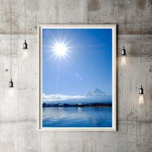 Mt Fuji Travel Print • Made Wanderful