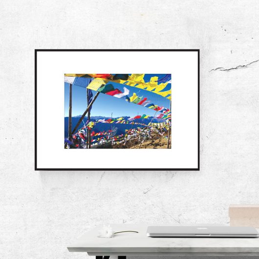 Bhutan Prayer Flags | Wall Art Print • Made Wanderful