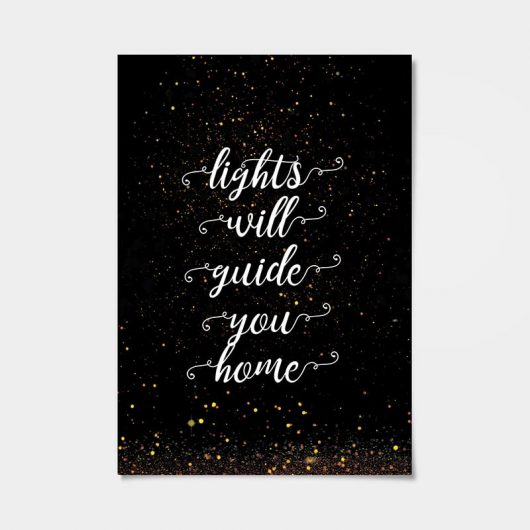 Lights Will Guide You Home | Art Print | Wall Art • Made Wanderful