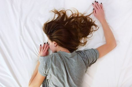 snoozing in bed | What to Do When Life Sucks • Made Wanderful