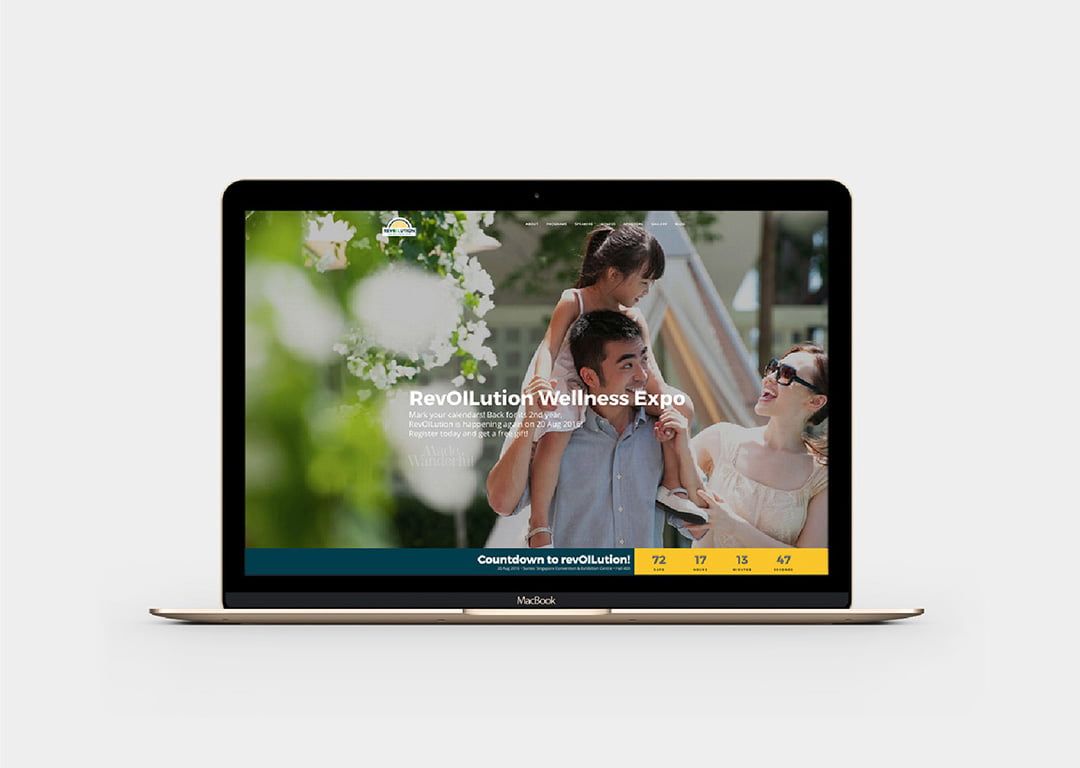 Revoilution web redesign 2016 • Made Wanderful