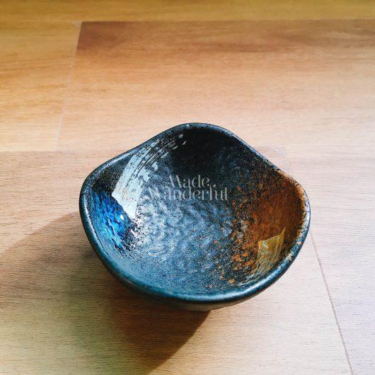 Handmade kiln gllaze ceramic saucer • Made Wanderful