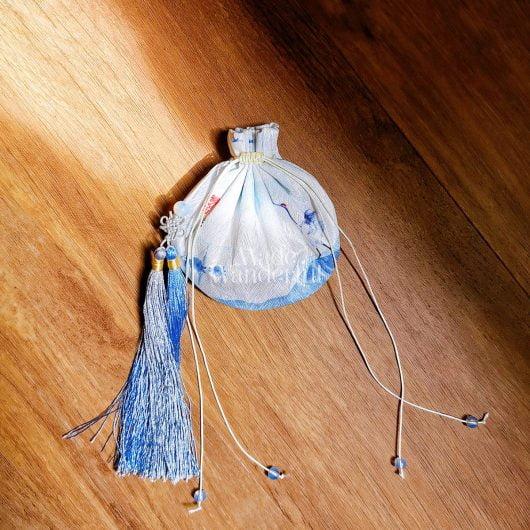 Oriental Yanxi-Inspired, Handmade Sachet • Made Wanderful