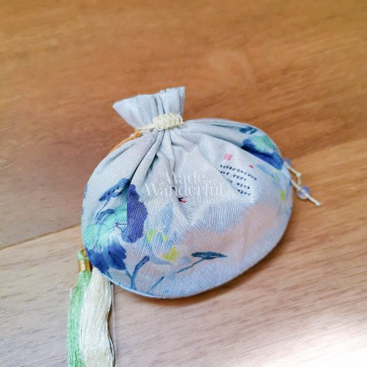 Oriental Yanxi-Inspired, Handmade Pouch • Made Wanderful