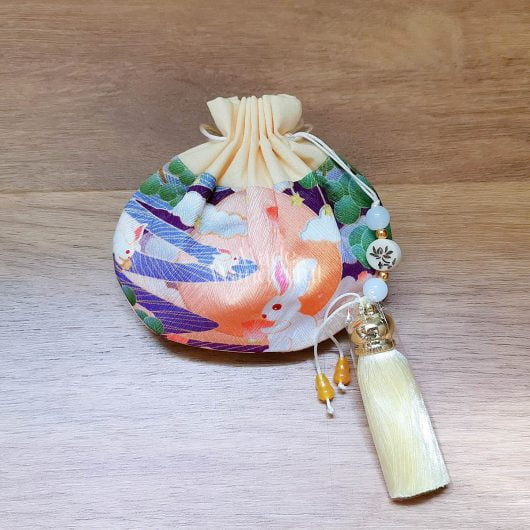 Sky Rabbit Handmade Pouch • Made Wanderful